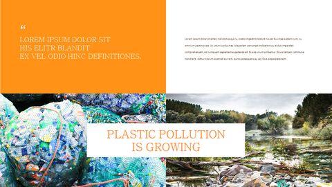 플라스틱 오염이 증가하고 있습니다 슬라이드 템플릿_26