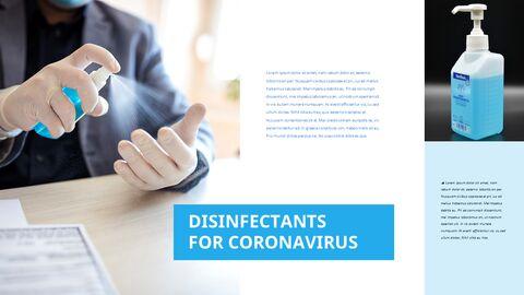 COVID-19 청소 및 소독 파워포인트 프레젠테이션_16