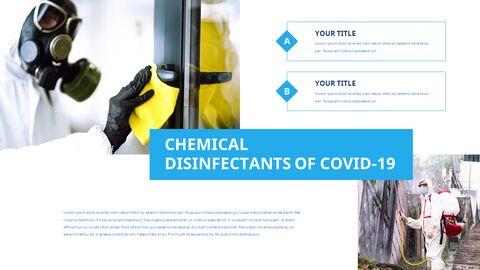 COVID-19 청소 및 소독 파워포인트 프레젠테이션_22