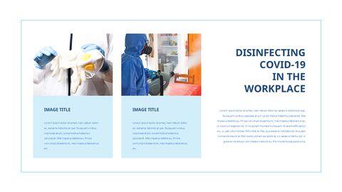 COVID-19 청소 및 소독 파워포인트 프레젠테이션_24