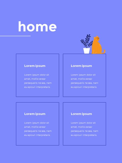 Stay Home Flat Illustration Design Pack Google Slides to PowerPoint_15
