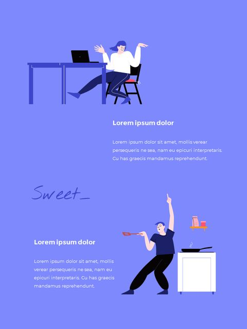 Stay Home Flat Illustration Design Pack Google Slides to PowerPoint_16