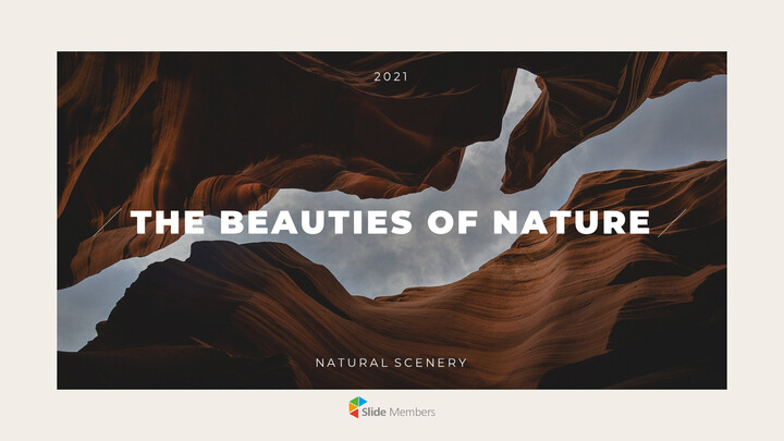 자연의 아름다움 템플릿 PPT_01
