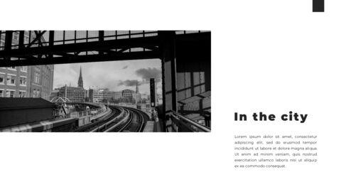 Train photo portfolio Presentations PPT_04