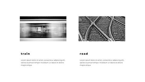 Train photo portfolio Presentations PPT_05