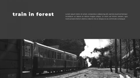 Train photo portfolio Presentations PPT_07