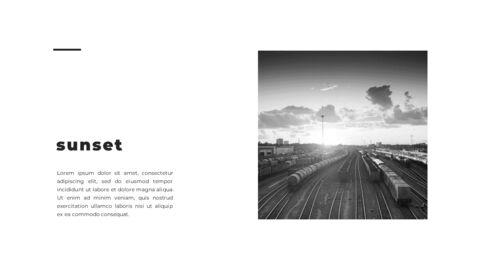 Train photo portfolio Presentations PPT_08