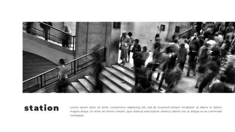 Train photo portfolio Presentations PPT_11