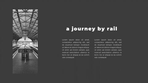 Train photo portfolio Presentations PPT_12