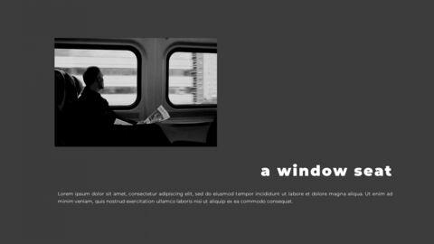 Train photo portfolio Presentations PPT_16