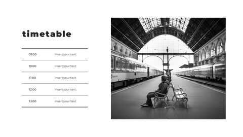 Train photo portfolio Presentations PPT_17