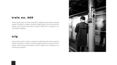 Train photo portfolio Presentations PPT_18