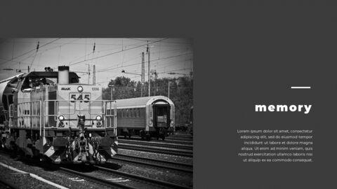 Train photo portfolio Presentations PPT_19