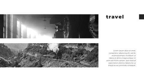 Train photo portfolio Presentations PPT_20