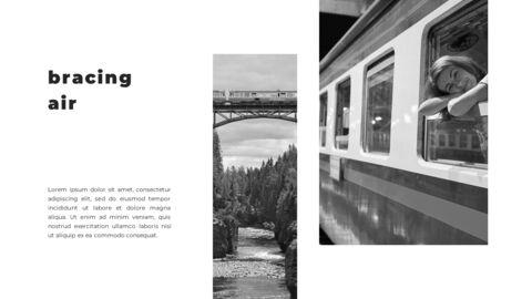 Train photo portfolio Presentations PPT_21