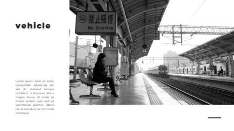 Train photo portfolio Presentations PPT_27
