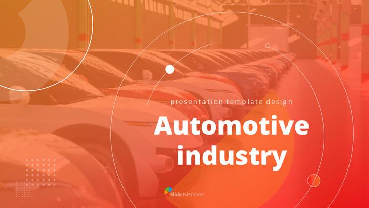 자동차 산업 비즈니스 프레젠테이션 템플릿_01