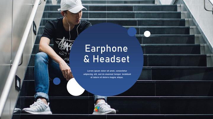 이어폰 및 헤드셋 간단한 디자인 템플릿_01