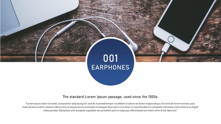 이어폰 및 헤드셋 간단한 디자인 템플릿_02