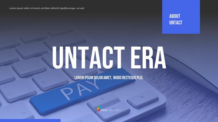 UNTACT 시대 편집이 쉬운 PPT 템플릿_01