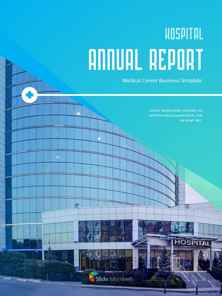 병원 사업 연례 보고서 심플한 Google 프레젠테이션_01