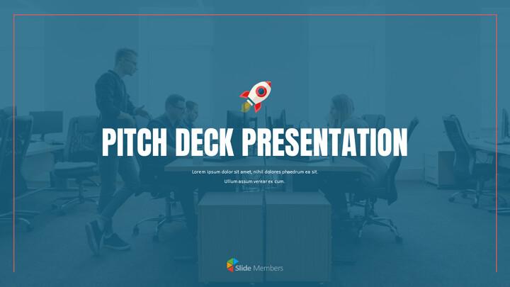 Layout presentazione Pitch Deck Progetta modelli PowerPoint animati_01
