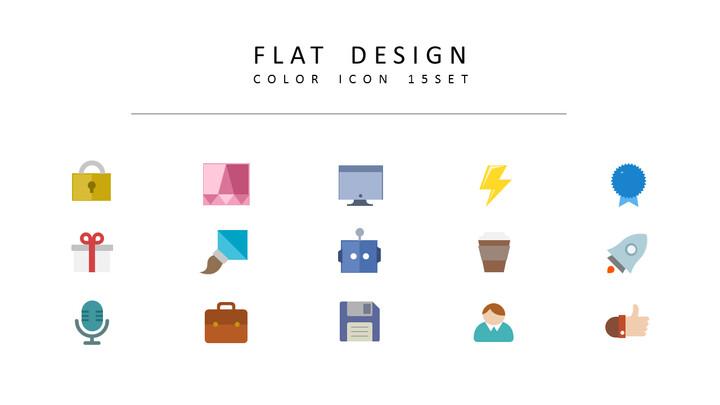 15 평면 디자인 디자이너를 위한 아이콘 리소스_02