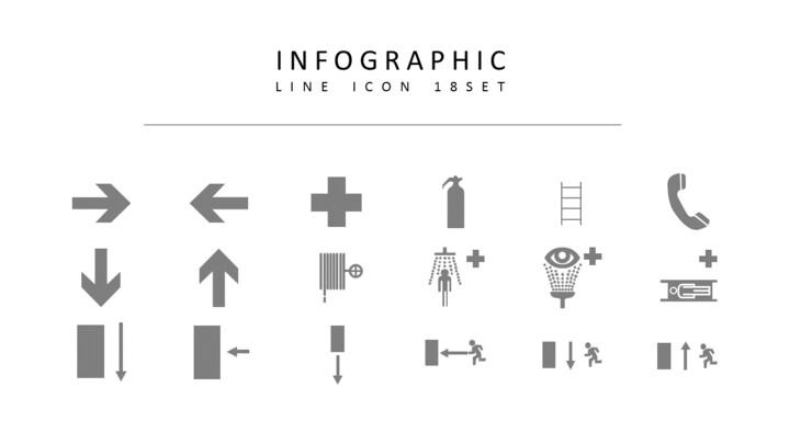 18 인포 그래픽 벡터 아이콘 세트_02