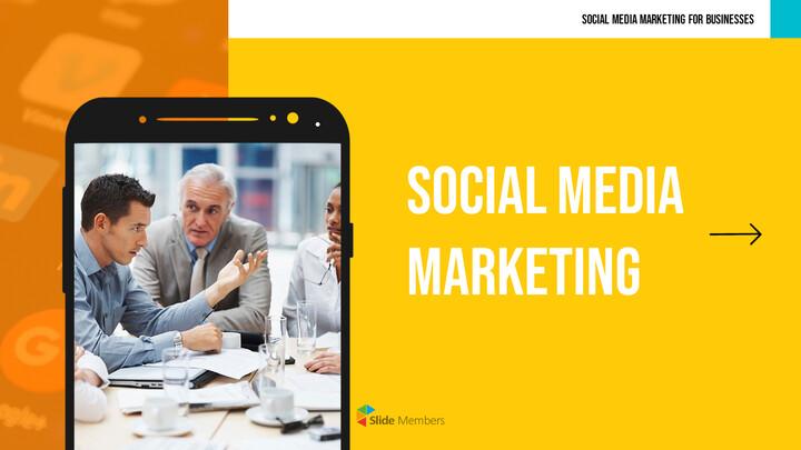 소셜 미디어 마케팅 프레젠테이션 PPT_01