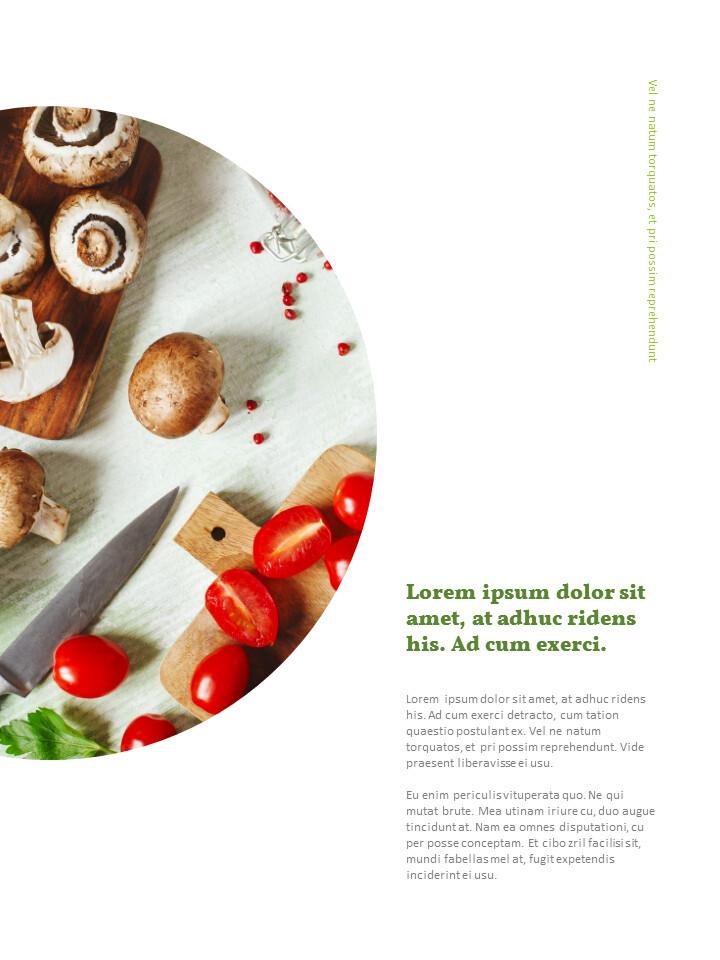 요리 템플릿 레이아웃 즐기기 Google 파워포인트 프레젠테이션_02