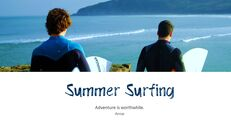서핑 파워포인트 템플릿_04