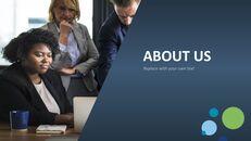 비즈니스 서비스 프레젠테이션용 PowerPoint 템플릿_04