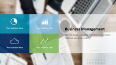 비즈니스 서비스 프레젠테이션용 PowerPoint 템플릿_23