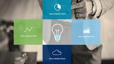 비즈니스 서비스 프레젠테이션용 PowerPoint 템플릿_24
