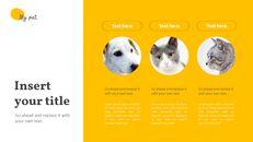 애완 동물 프레젠테이션용 PowerPoint 템플릿_10