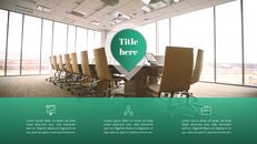 사무실 사업 프레젠테이션용 PowerPoint 템플릿_13