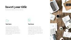사무실 사업 프레젠테이션용 PowerPoint 템플릿_14