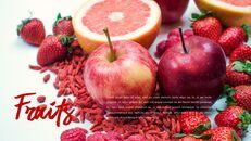 레드 과일과 야채 테마 PPT 템플릿_03