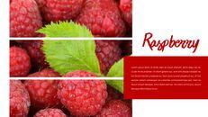 레드 과일과 야채 테마 PPT 템플릿_08
