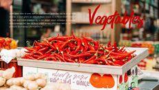 레드 과일과 야채 테마 PPT 템플릿_09