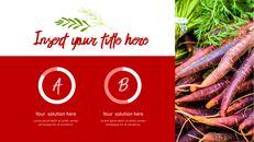 레드 과일과 야채 테마 PPT 템플릿_10