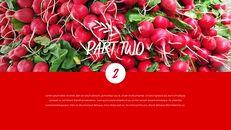 레드 과일과 야채 테마 PPT 템플릿_12