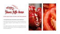 레드 과일과 야채 테마 PPT 템플릿_20