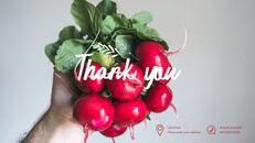 레드 과일과 야채 테마 PPT 템플릿_60