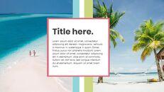 여름 프레젠테이션을 위한 구글슬라이드 템플릿_18