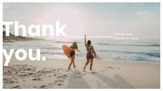 여름 프레젠테이션을 위한 구글슬라이드 템플릿_36