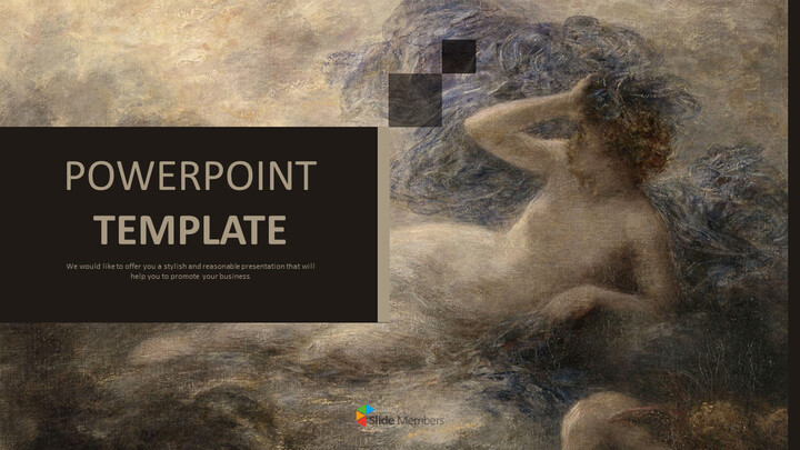 "Henri Jean Theodore Fantin Latour \""LA Nuit\"" - 무료 디자인 템플릿_01"