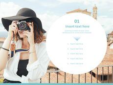 Overseas Trip in Spring Time - Free PPT Sample_03