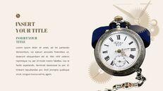 시계 프레젠테이션을 위한 구글슬라이드 템플릿_12