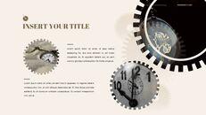 시계 프레젠테이션을 위한 구글슬라이드 템플릿_21